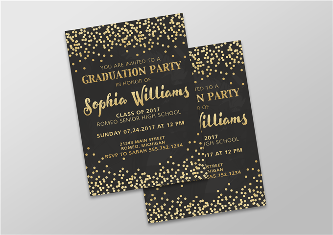 Color Grad Invite