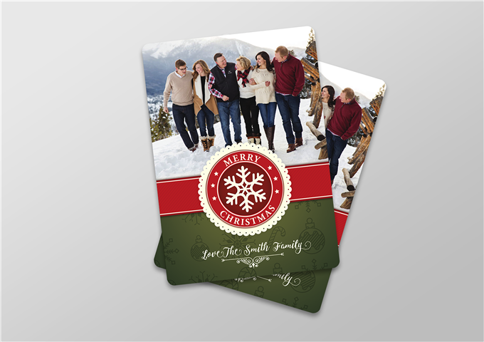 Color Christmas Card
