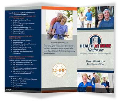 Health at Home Tri-Fold Printing